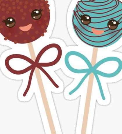 2 Yummy cakepops Sticker