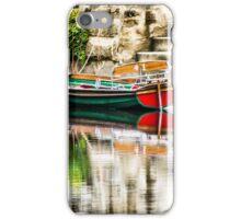 Knaresborough boats iPhone Case/Skin