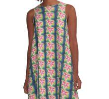 Star Gazer Lily A-Line Dress
