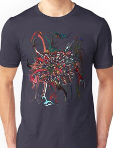 Exploding dark star based of event Horizon painting  Unisex T-Shirt