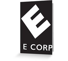 Evil Corp Greeting Card