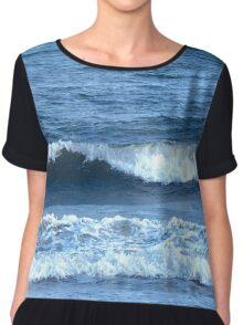 Beach Waves Chiffon Top