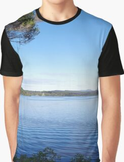 Wallaga Lake (panoramic) Graphic T-Shirt