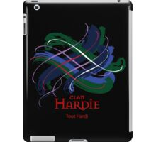 Clan Hardie - Prefer your gift on Black/White tell us at info@tangledtartan.com  iPad Case/Skin