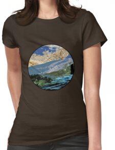 The Beautiful Earth Womens Fitted T-Shirt