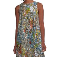 Graffiti #61 A-Line Dress