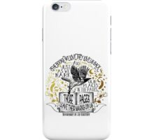 Nevernight - Books Love Us Back iPhone Case/Skin