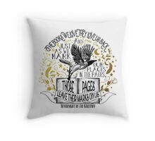 Nevernight - Books Love Us Back Throw Pillow
