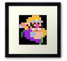 PixelStiff Wario Framed Print