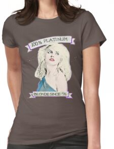 Platinum Blondie Womens Fitted T-Shirt