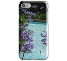 Andalusian garden Marbella Spain iPhone Case/Skin