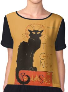Tournee Du Chat Noir - After Steinlein Women's Chiffon Top