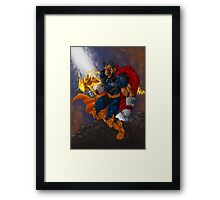 Beta Ray Bill Framed Print