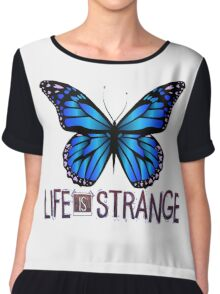 Life is Strange 3 - Blue butterfly Chiffon Top