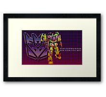 Transformers Devastator Framed Print