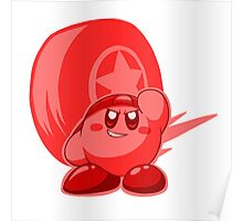 Wheel Kirby Poster