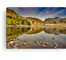 Reflections Blea Tarn Canvas Print