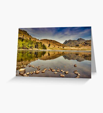 Reflections Blea Tarn Greeting Card
