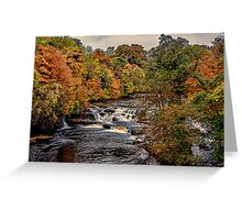 Aysgarth Falls Yorks Dales Greeting Card