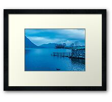 Early Morning at Buttermere Framed Print