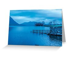 Early Morning at Buttermere Greeting Card