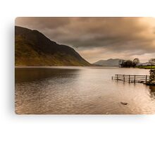 Morning at Buttermere Canvas Print