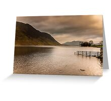 Morning at Buttermere Greeting Card