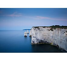 Dawn at Old Harry Rocks Photographic Print
