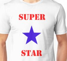 Super Star (with Star) Unisex T-Shirt