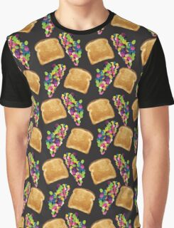 Toast and jelly beans Graphic T-Shirt