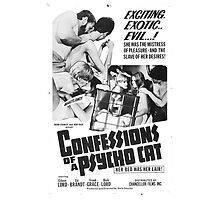 Confessions of a Psycho Cat by PulpBoutique
