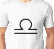 Libra Zodiac Symbol Unisex T-Shirt