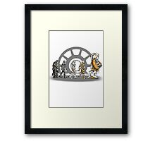 Iron Age Framed Print