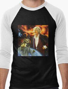 Jon Pertwee Sea Devil Men's Baseball ¾ T-Shirt