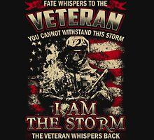 Veteran - i'm the storm Unisex T-Shirt