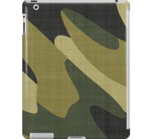 Camouflage 10 iPad Case/Skin