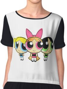 PowerPuff Chiffon Top