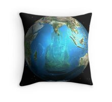 At The Heart Of It All Throw Pillow