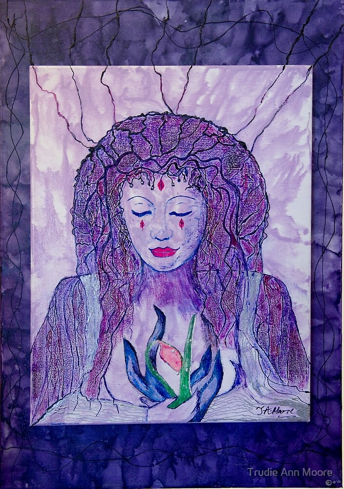 Earth Goddess by Trudie Ann Moore