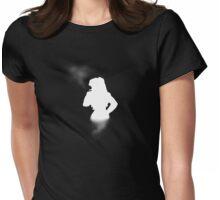 Balalaika White Silhouette Womens Fitted T-Shirt