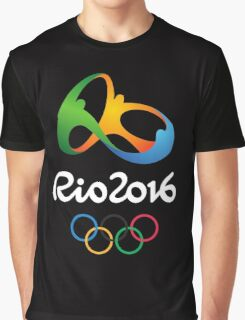 Olympic Rio 2016  Graphic T-Shirt