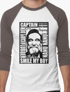 Robin williams tribute  Men's Baseball ¾ T-Shirt