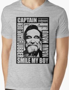 Robin williams tribute  Mens V-Neck T-Shirt
