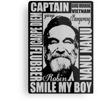 Robin williams tribute  Metal Print