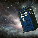 The Tardis In Space by AnnaBaria