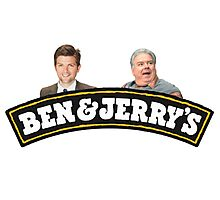 Ben and Jerrys (Parks and Rec) Photographic Print