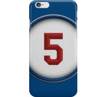5 - Seager iPhone Case/Skin