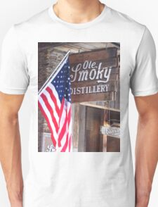 Old Glory At Ole Smoky Distillery T-Shirt