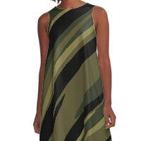Camouflage streaks 2 A-Line Dress