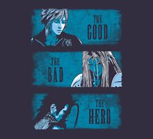 final fantasy 7, ff7, cloud strife, cloud, sephiroth, tifa, avalanche Unisex T-Shirt